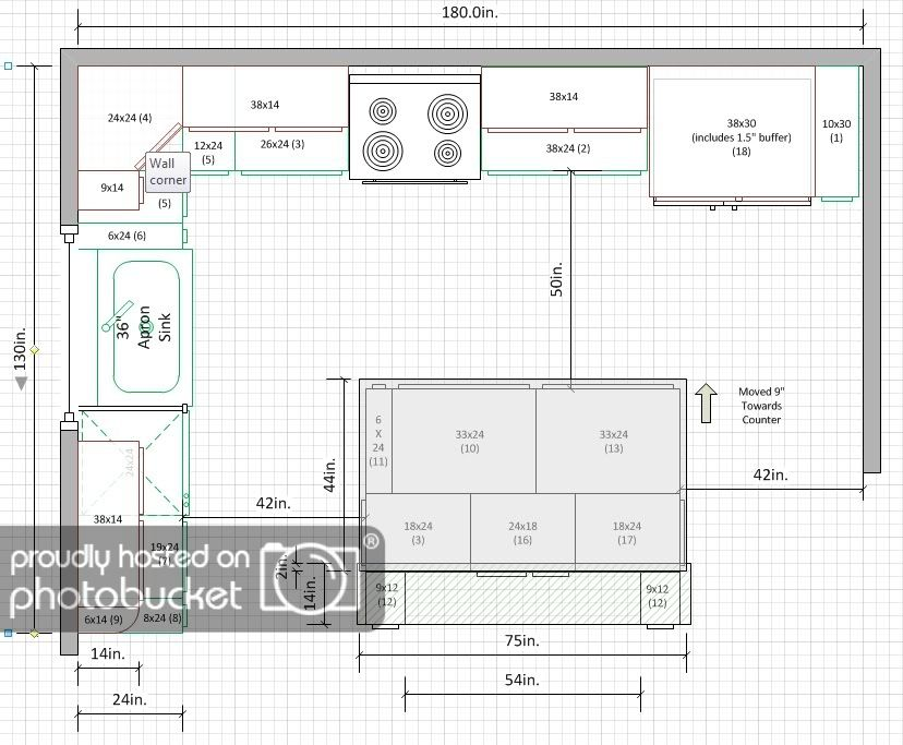 Is A 10 X15 Kitchen Too Small For U Shape Kitchens Forum Kitchen Layout U Shaped Small Kitchen Layouts Kitchen Floor Plans
