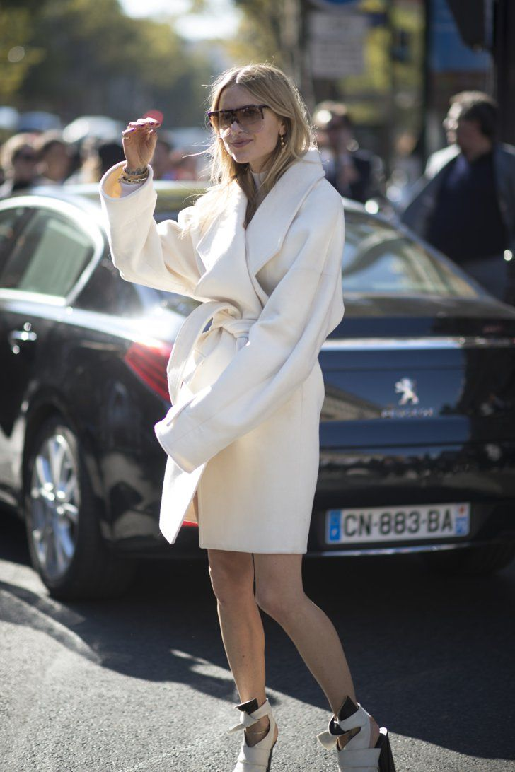 Pin for Later: The Best Street Style From All of Paris Fashion Week Paris Fashion Week, Day 3 Pernille Teisbaek.