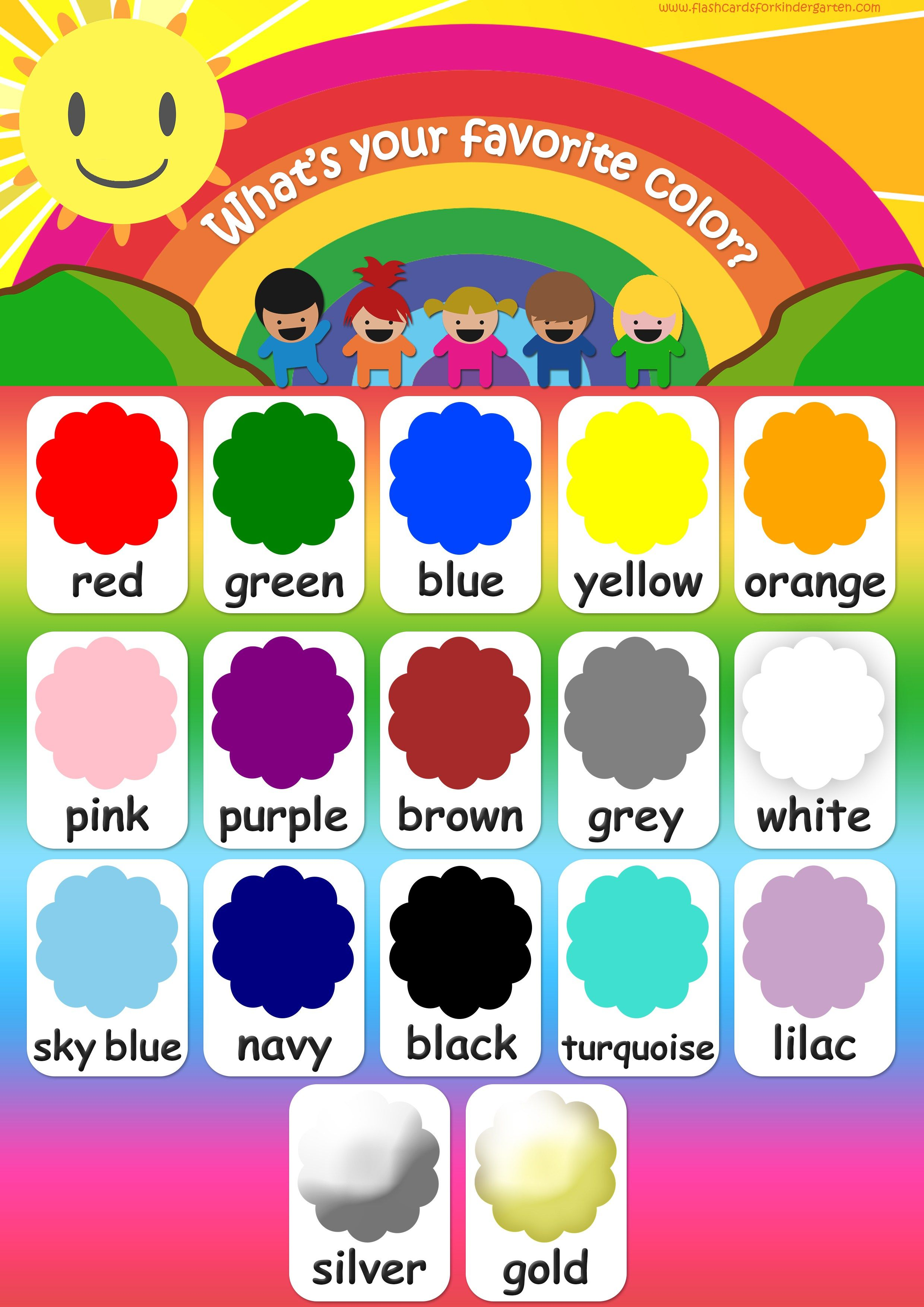 poster classroom set up color flashcards teaching colors classroom display boards. Black Bedroom Furniture Sets. Home Design Ideas