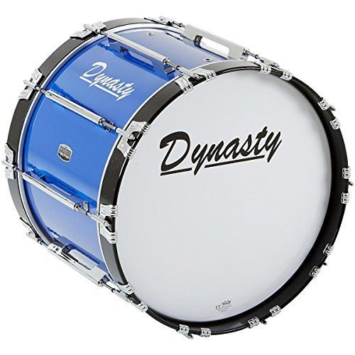 Used by some of the most prestigious groups around the world this Dynasty Marching Bass Drum features a 100% 8-ply...