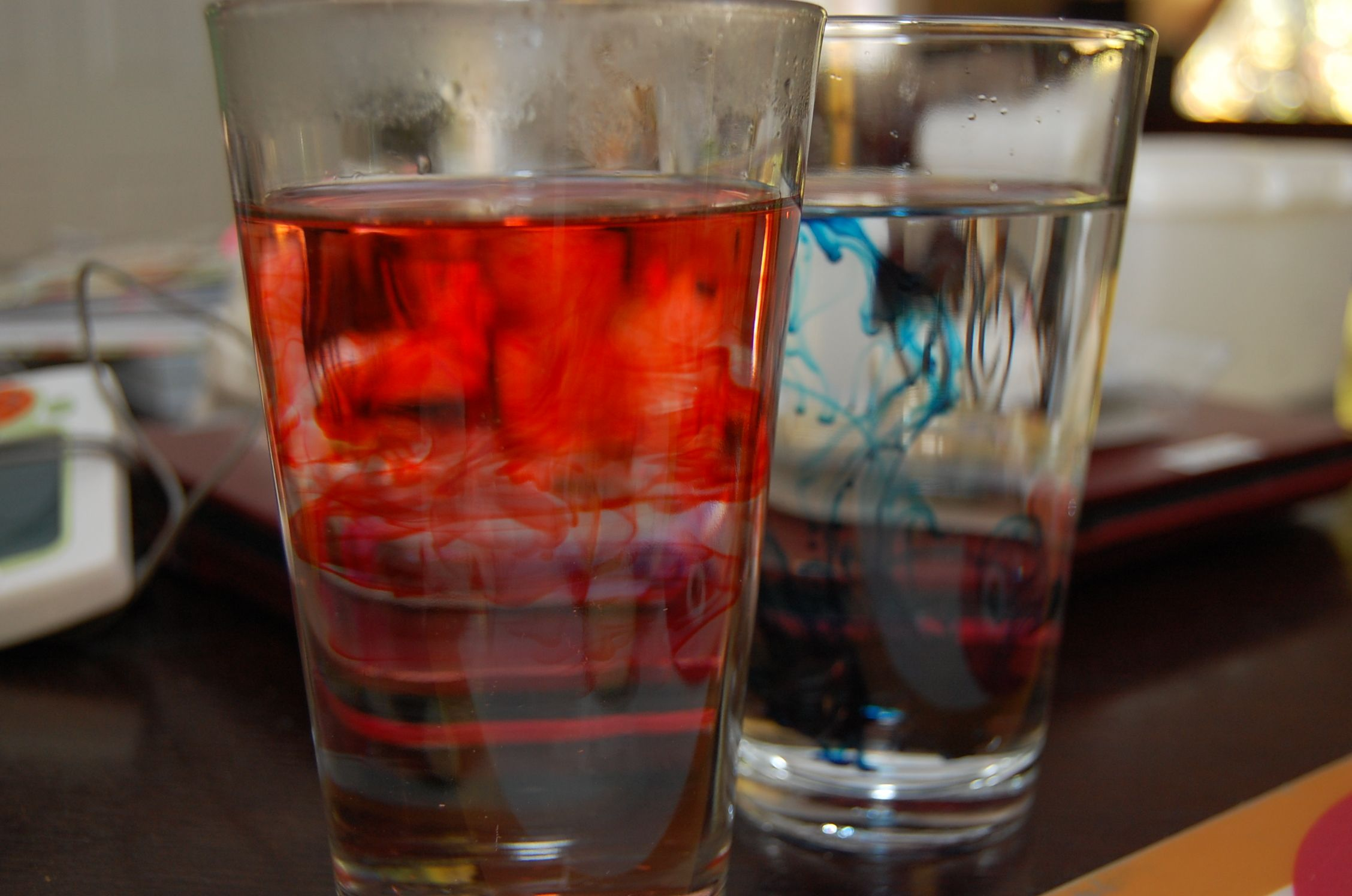 Temperature In Action Use Food Coloring And Hot And Cold Water To