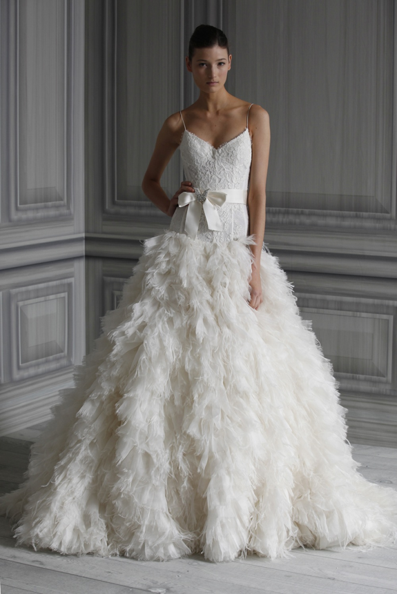 2017 Wedding Dress Trend Extreme Texture