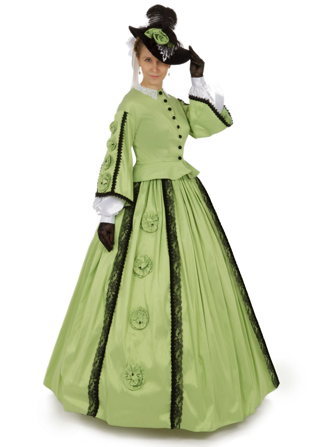 Margaret Civil War Victorian Styled Gown | Victorian, Gowns and ...