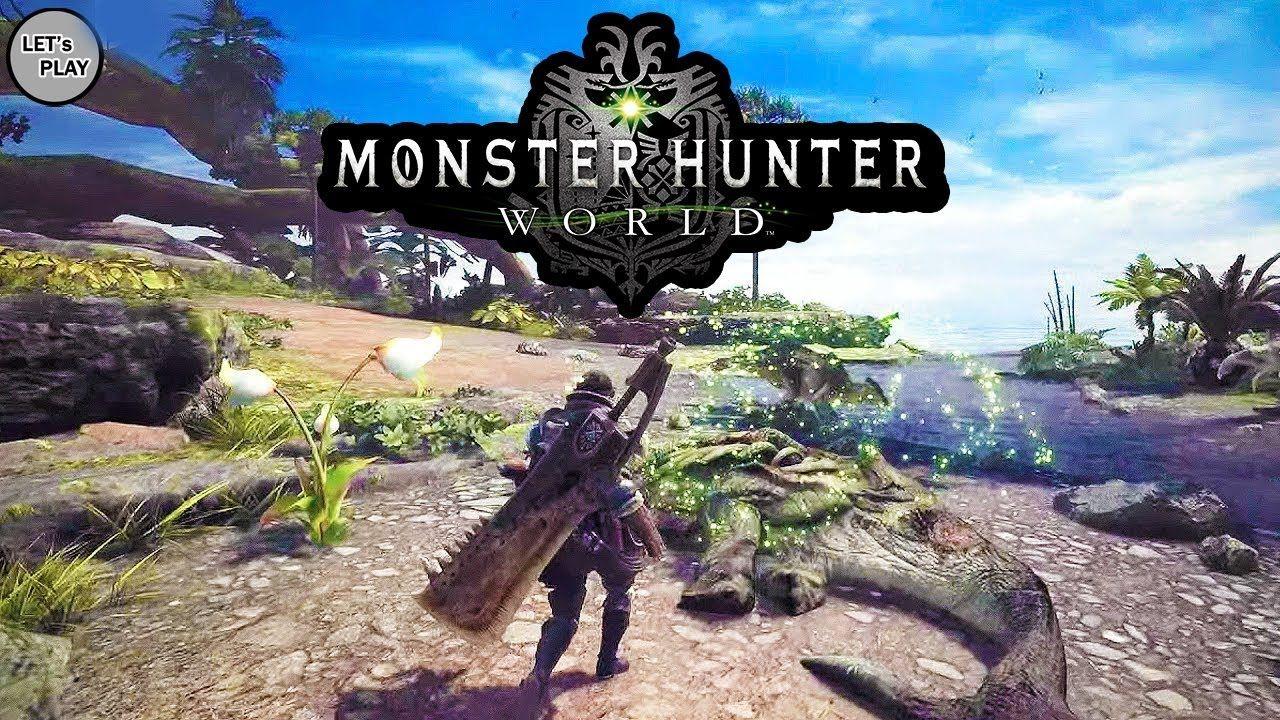 Monster Hunter World Awesome Gameplay Trailer Full Hd 2017 18 Monster Hunter World Monster Hunter Hunter