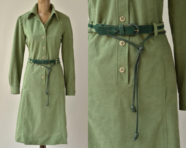 sage green dress shirt