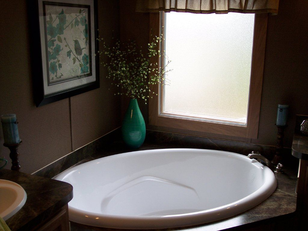 Great Mobile Home Bathroom Remodel!