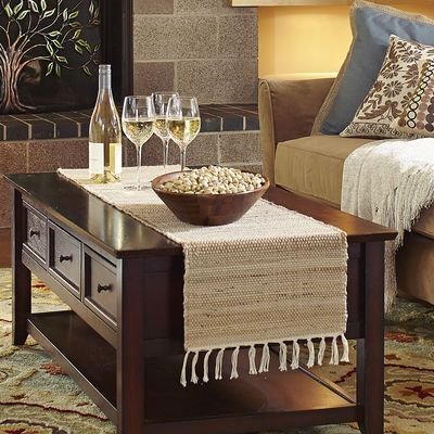 Jute Natural Table Runner Dining Table Cloth Coffee Table