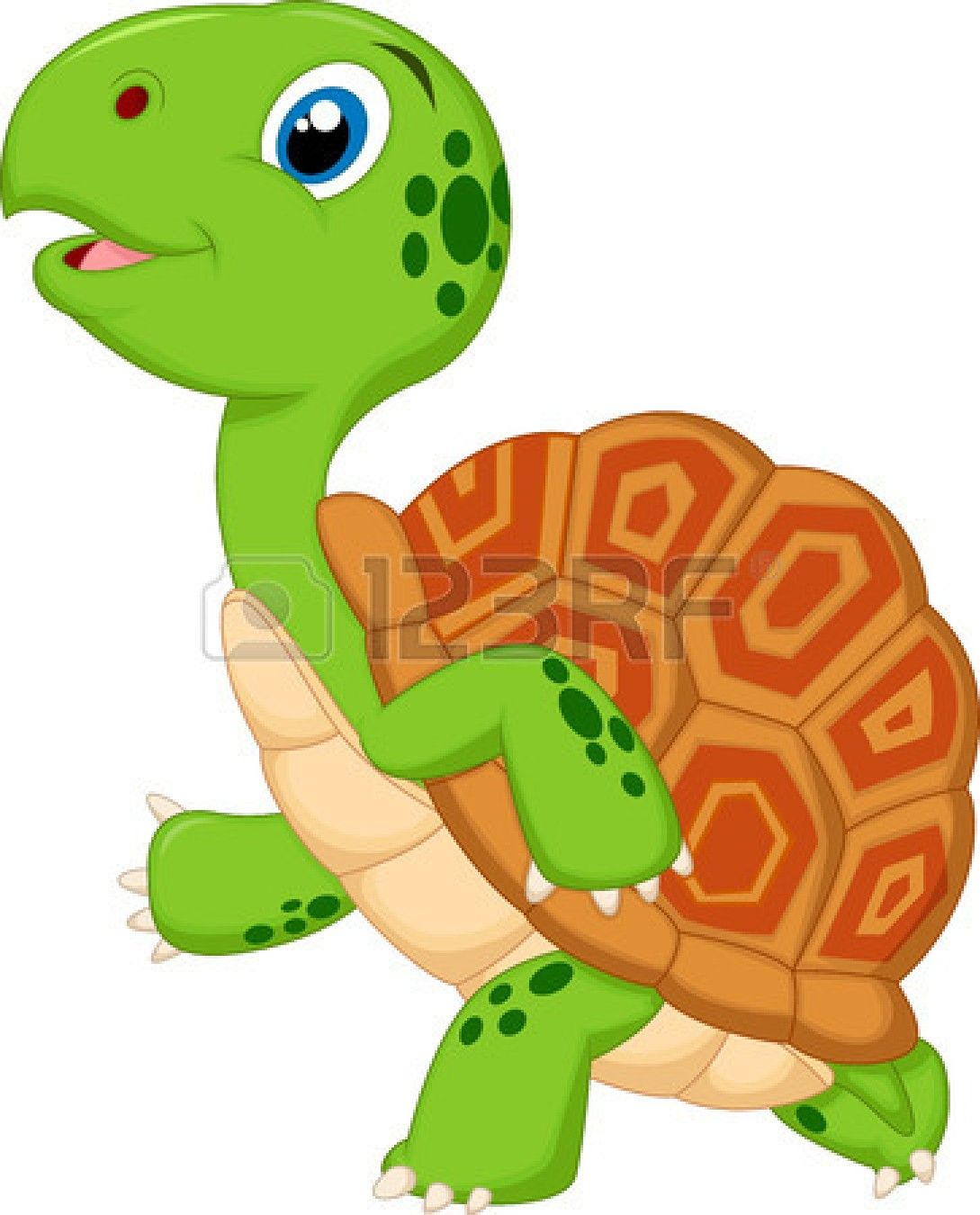 cute green turtle cartoon royalty free cliparts vectors and  [ 1089 x 1350 Pixel ]