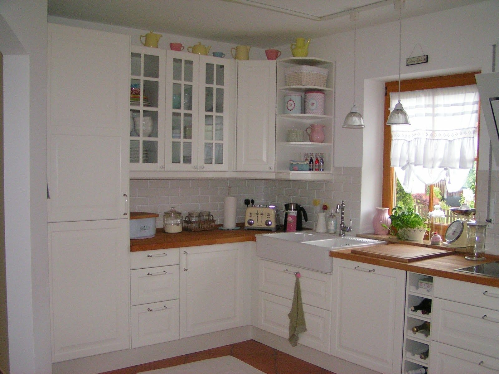Bodbyn Wei Ikea Kitchens Pinterest   Upper kitchen cabinets, Kitchen design, Small kitchen ...