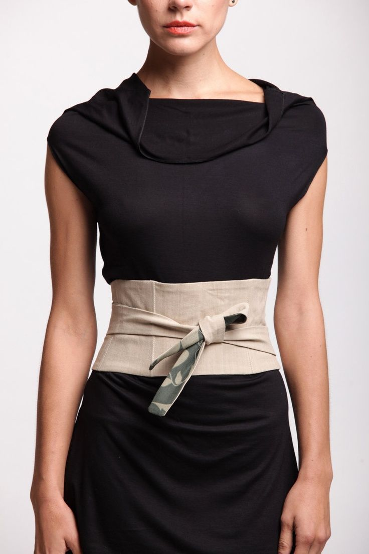 Ow To Make Fabric Belt Step By