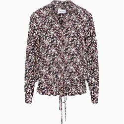 Photo of Calvin Klein floral blouse with hem to tie 36 Calvin Klein