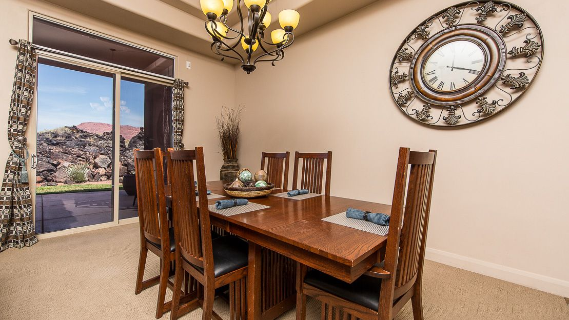 Beautiful views from this 3br3ba vacation home in entrada