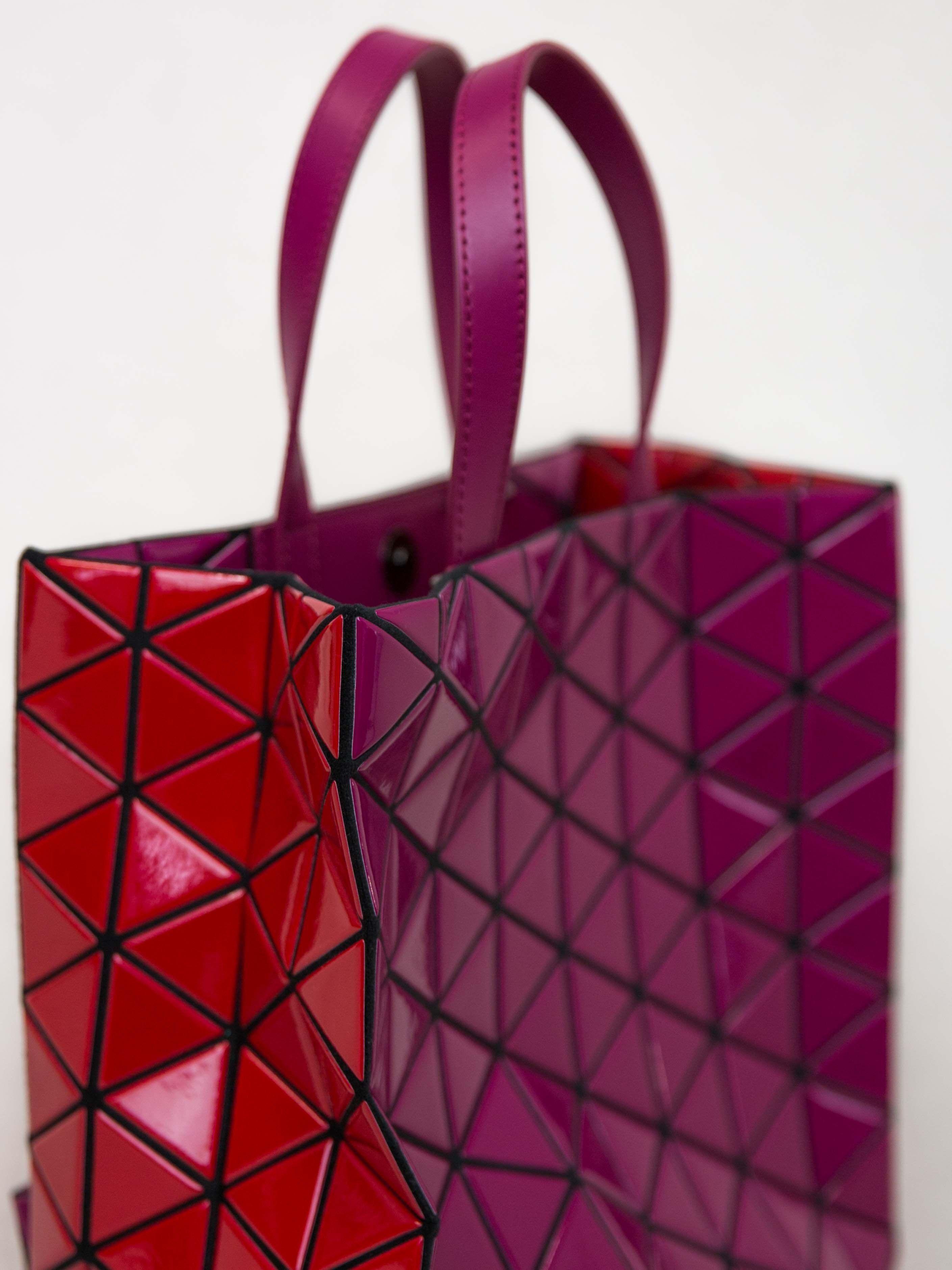 BAO BAO ISSEY MIYAKE Brick Bi-Colour Tote Bag  b42dafbd9e0ca
