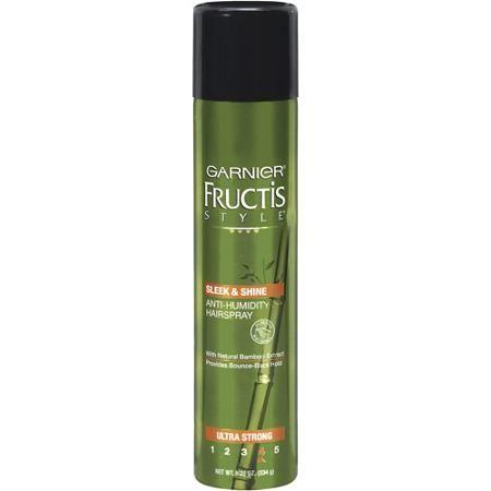 Garnier Fructis Style Sleek Shine Anti Humidity Hairspray Ultra Strong Hold 8 25 Oz Walmart Com Anti Humidity Hair Spray Humidity Hair Hairspray