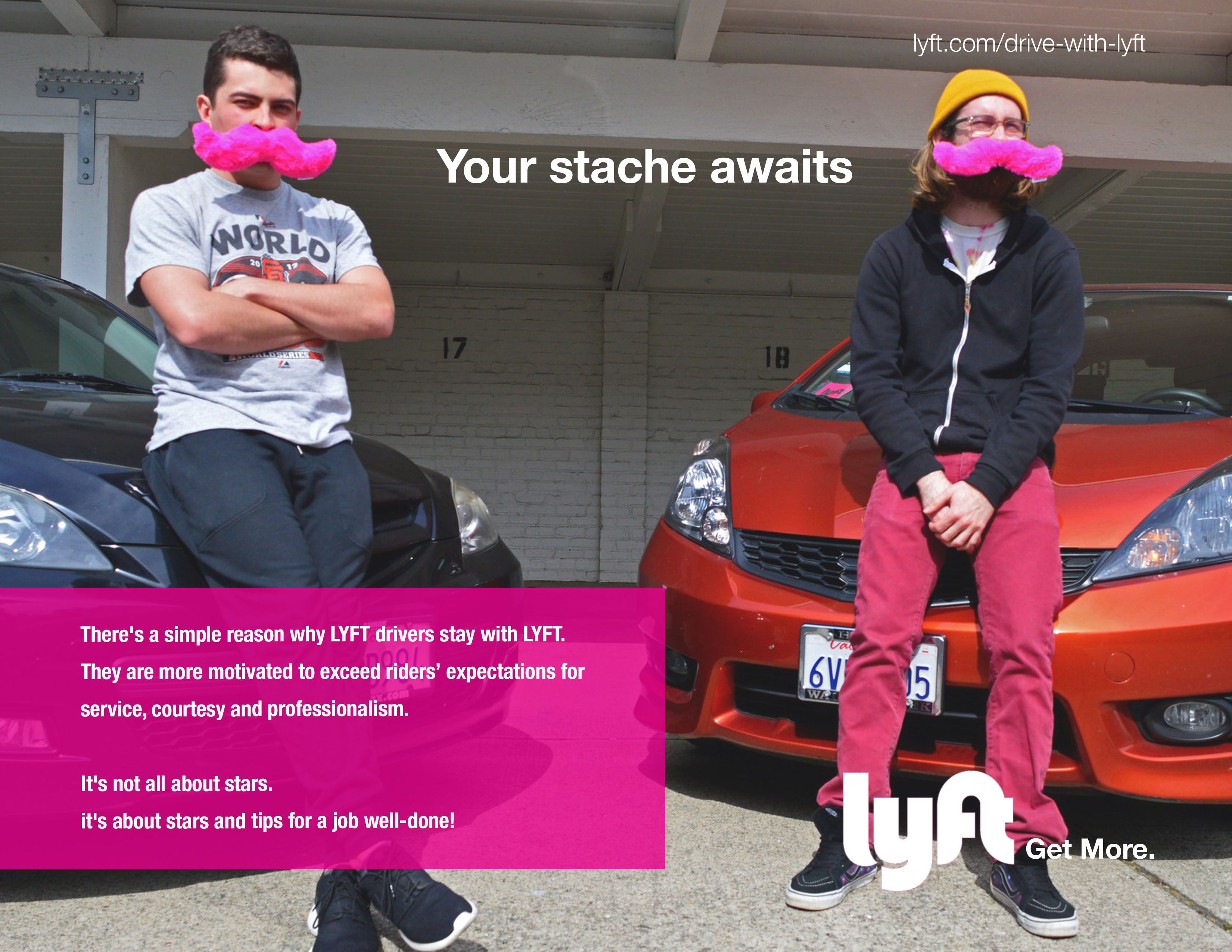 Class project drive with lyft company lyft industry