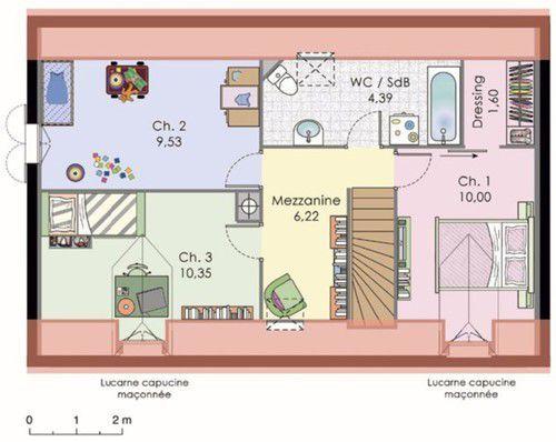 maison classique dtail du plan de maison classique faire construire sa maison - Plan De Maison A Construire