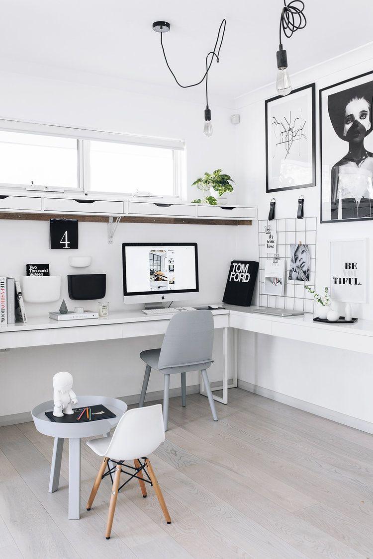 Oficinas con estilo minimalista en decoraci n y dise o 64 Decoracion de espacios de trabajo