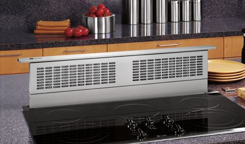 Cooktop hood electric and