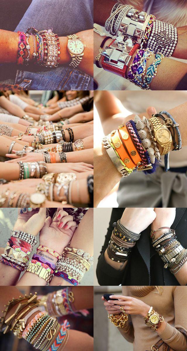 Bracelets, bracelets and more bracelets!
