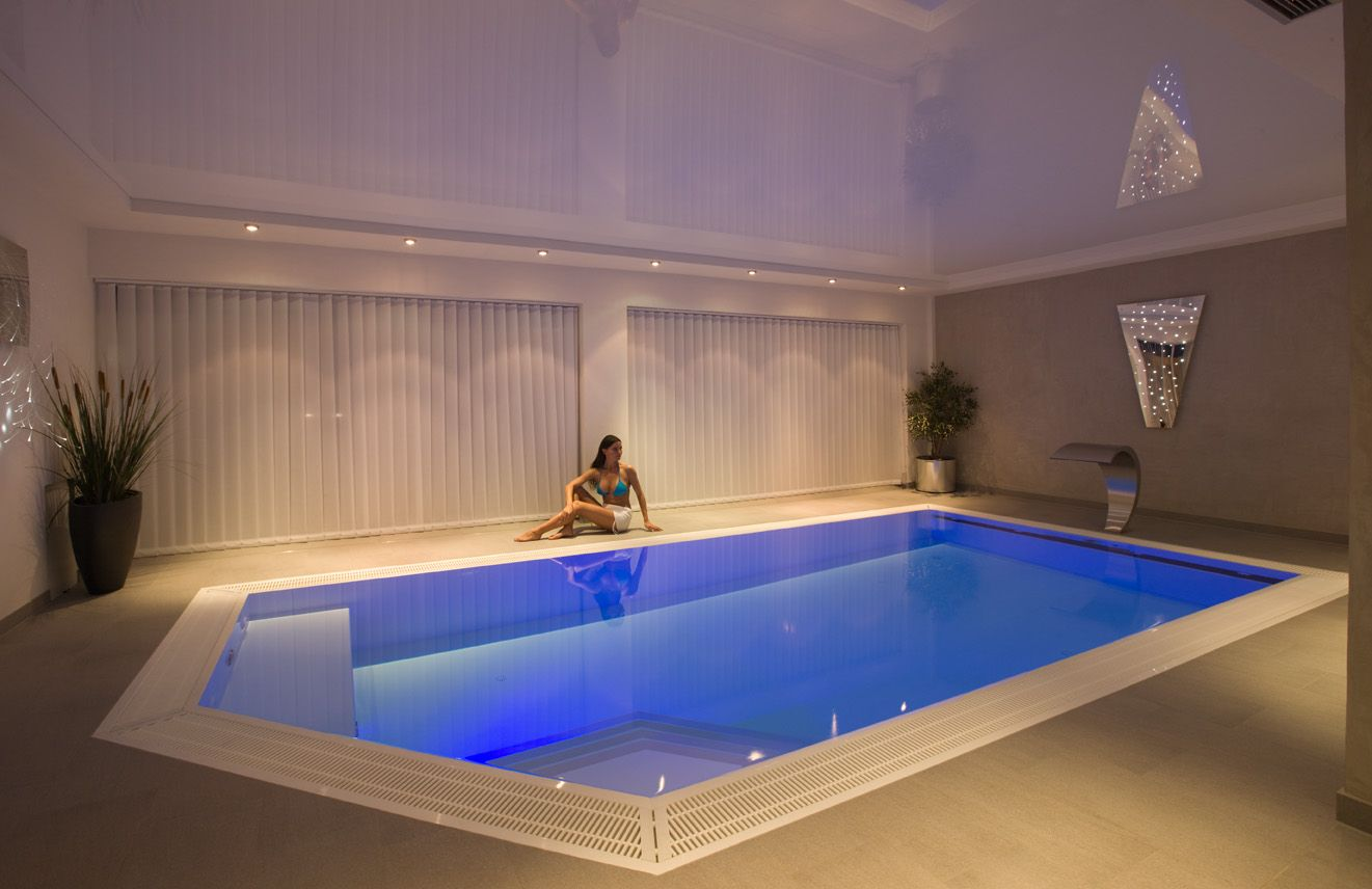 Schwimmbadbau Karlsruhe House plans, House, Pool