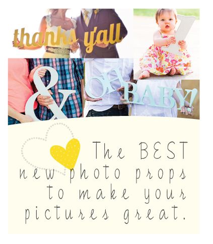 the BEST photo props for wedding photos, baby & maternity photos, engagement, etc.