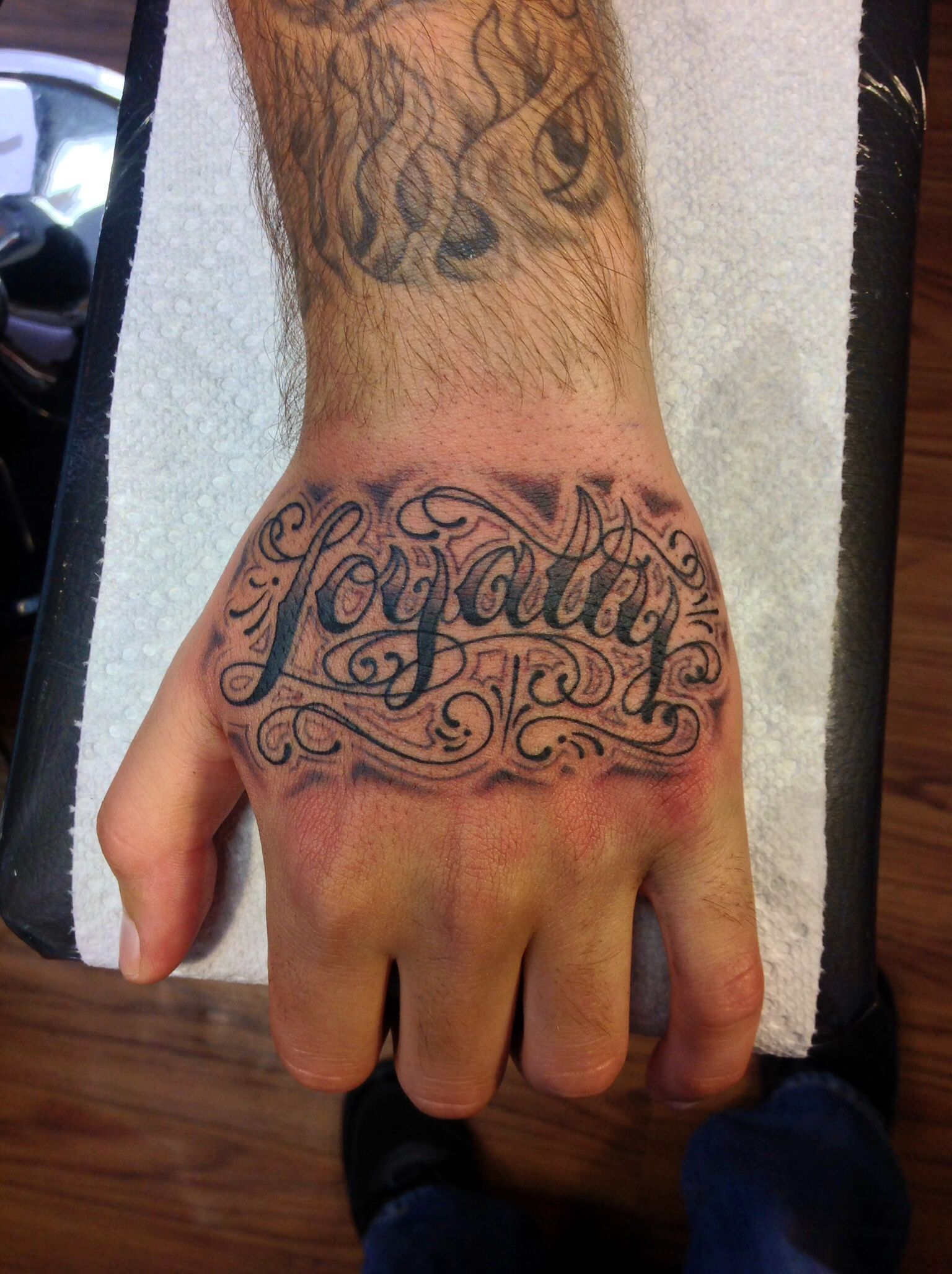 Tattoo Lettering Hand Tattoos Hand Tattoos For Guys Tattoos