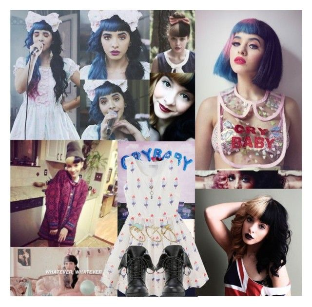 """""""Melanie Martinez"""" by drakona ❤ liked on Polyvore featuring Betsey Johnson, ASOS, Sheinside and shein"""