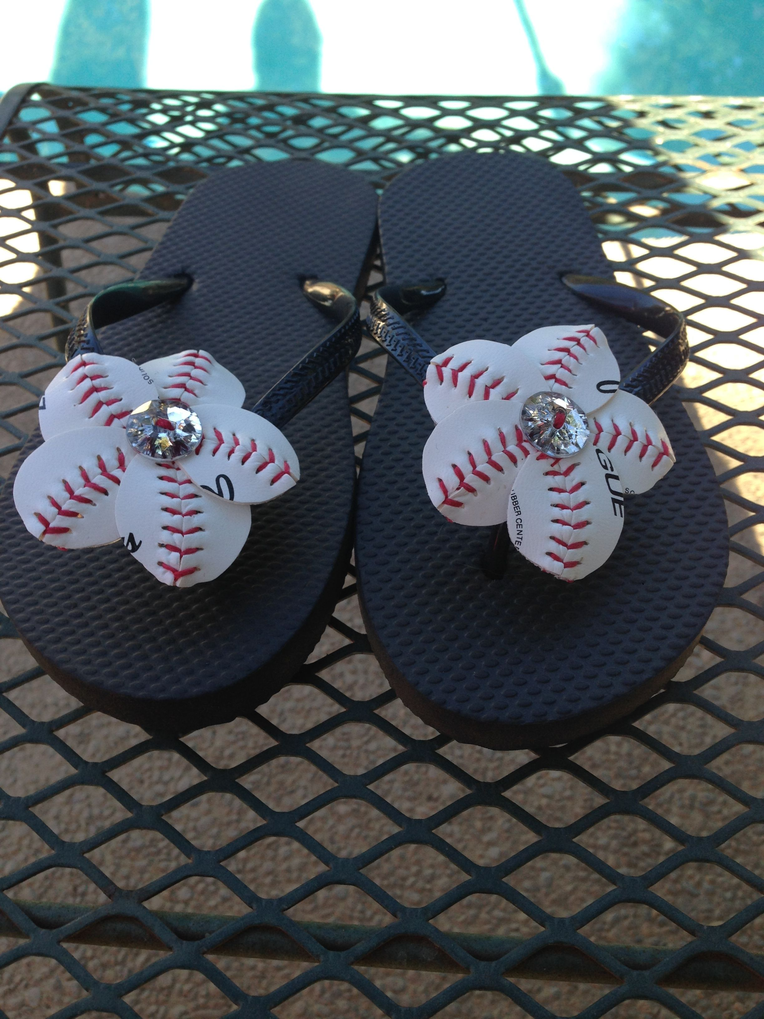 41279174d  made from actual baseballs  perfect for sports moms  add to your own flip