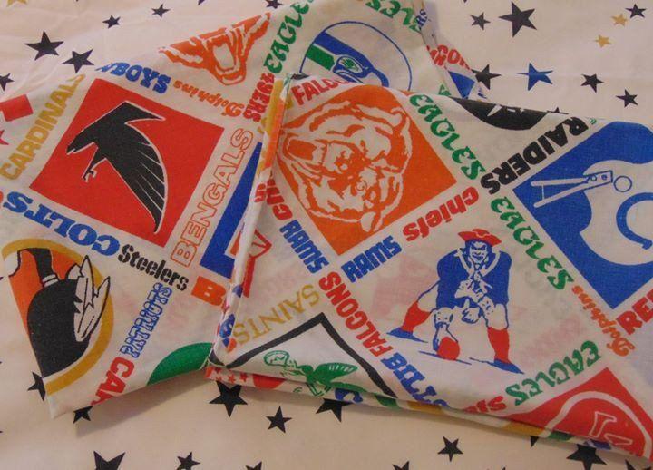 football teams sears perma prest pillowcase set