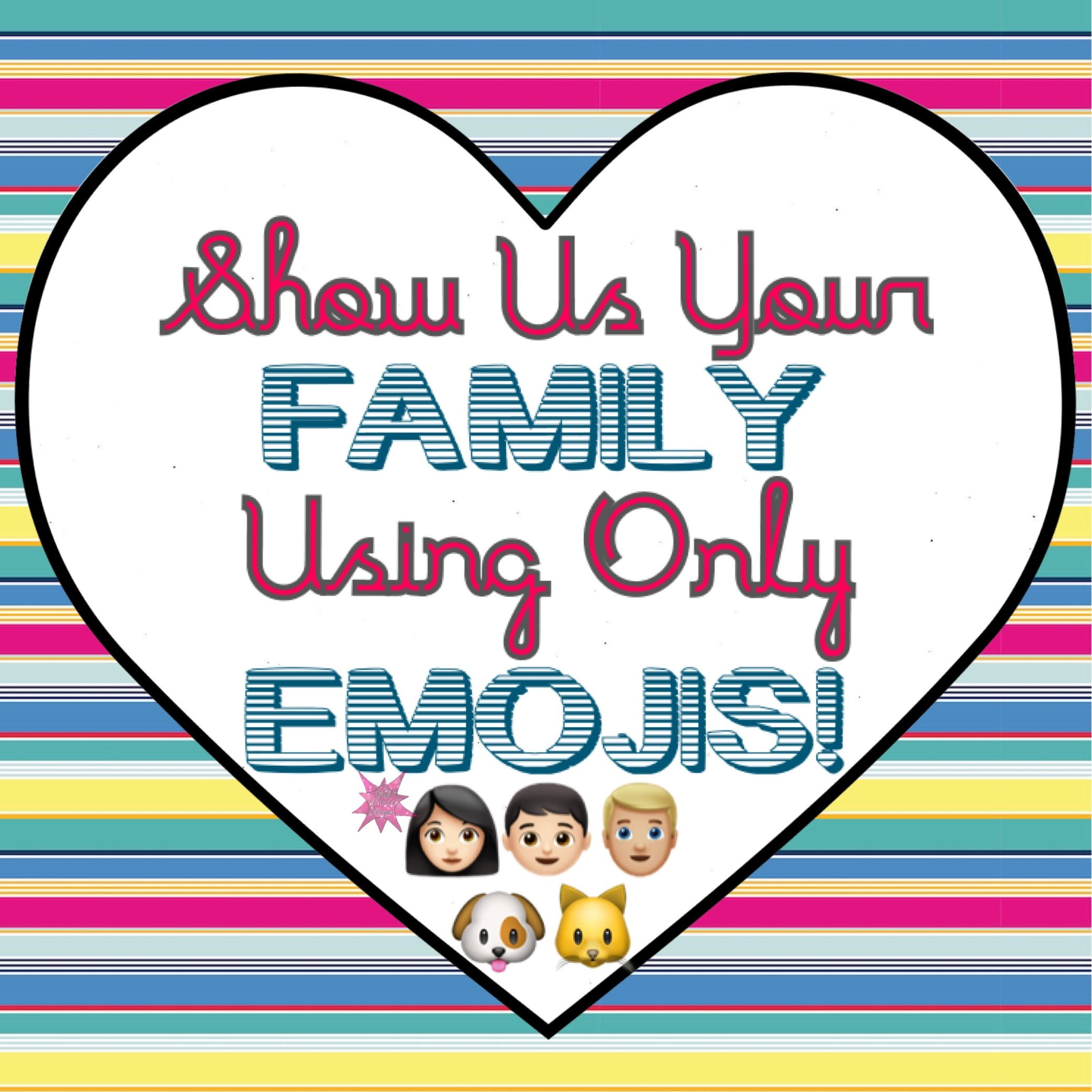Interactive graphic for VIP Facebook group using emojis