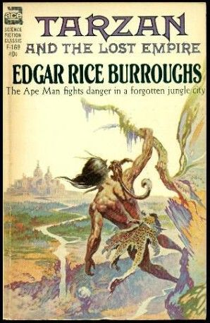 Image result for tarzan and the lost empire ace book