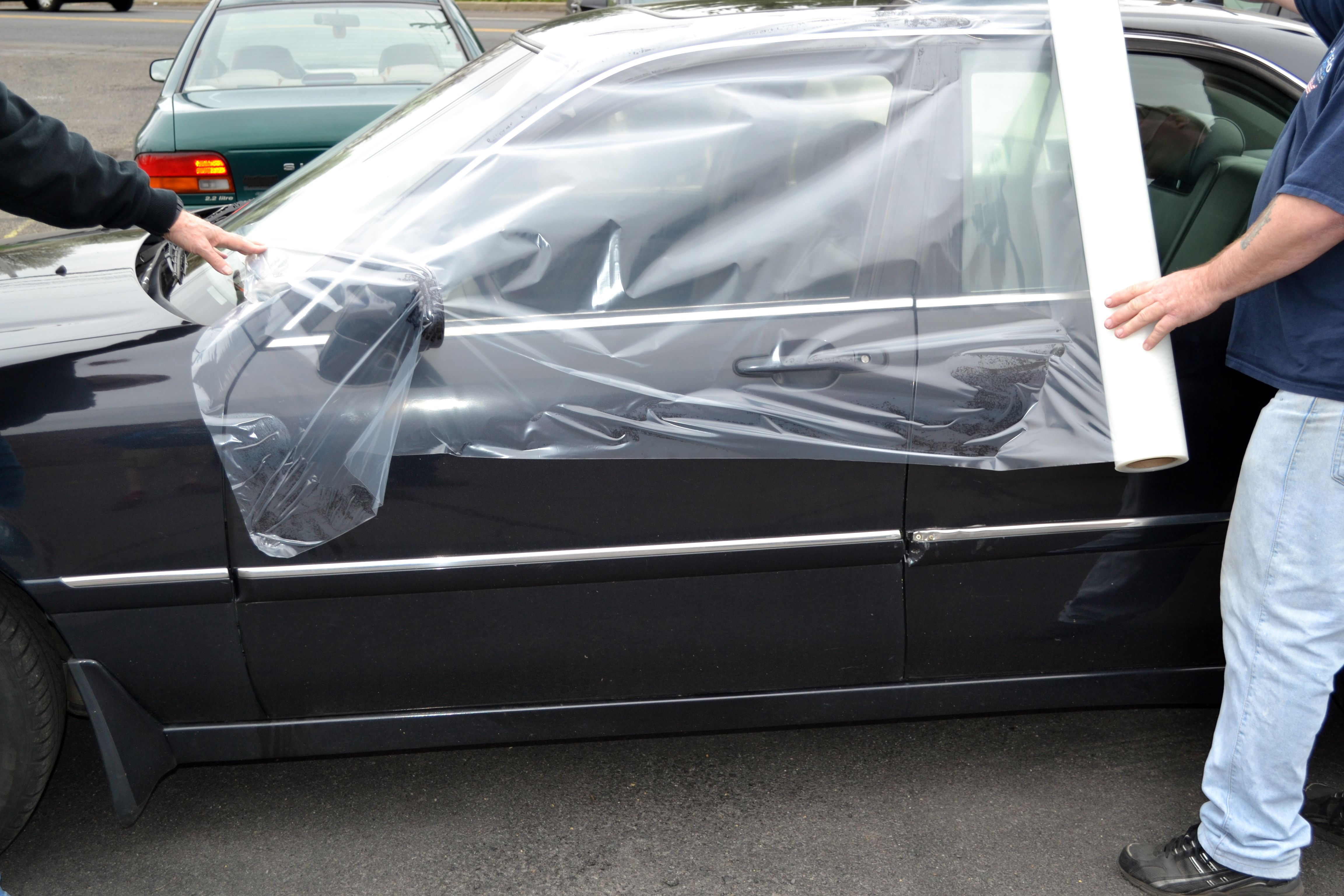 Presto Tape S Crash Protection Film Also Known Wreck Wrap Wreck A Wrap Or Salvage Is A Temporary Yet Extremely Effe Auto Collision Car Protection Auto Repair