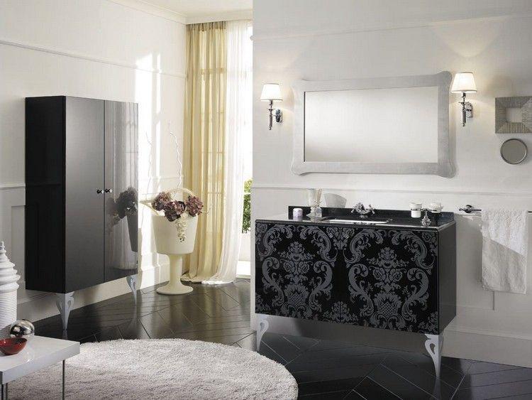 Badezimmer Mobel In Barock Stil Mit Prachtigen Ornamenten Barock Stil Badezimmer Badezimmer Mobel