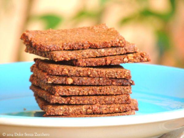 Biscotti secchi mandorle cacao e stevia 1 Biscotti Secchi con Mandorle, Cacao e Stevia