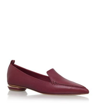 Nicholas Kirkwood Pointy Leather Slipper available to buy at Harrods. Shop women's designer shoes online and earn Rewards points.