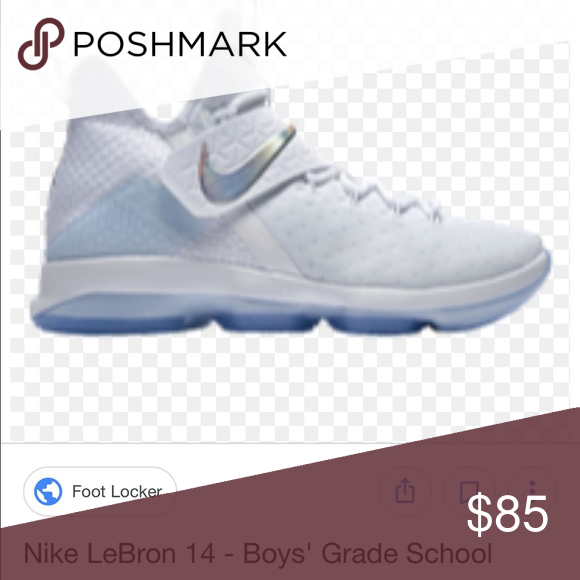 409a07cbb3b ... amazon youth lebron 14 size 6 nib but no lid for box white size 6 shoes  ...