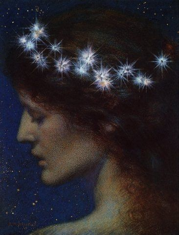 Edward Robert Hughes - Night / Jean M