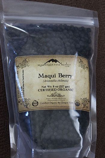 Maqui Berry Powder Another Top Super Fruit Variety Benefits Of