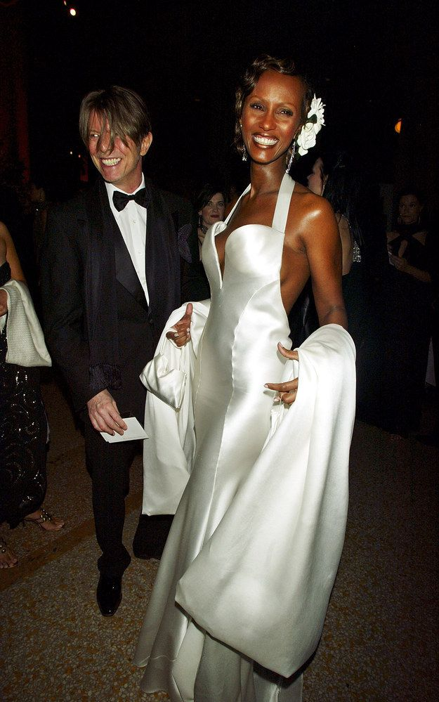 Despite his ever-evolving, electrifying stage persona, at home, Bowie was a committed husband and father. | Let's All Take A Moment To Appreciate David Bowie & Iman's Love Story