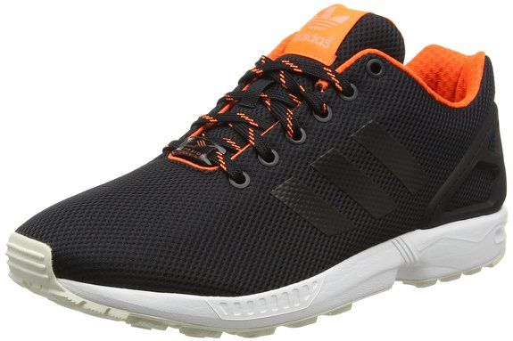adidas adidas adidas Herren ZX Flux Sneakers, Schwarz Core Sort Solar Orange Sun 3ce6c8