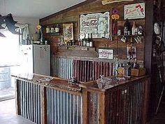 Rustic Bar Ideas   Could Use Some Improvements But Still Rustic. Maybe Iu0027m
