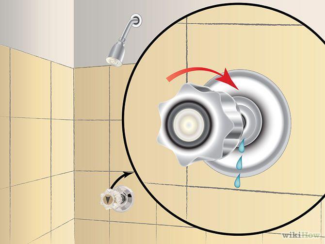 Fix A Leaky Shower Faucet Shower Faucet Handles Shower Faucet