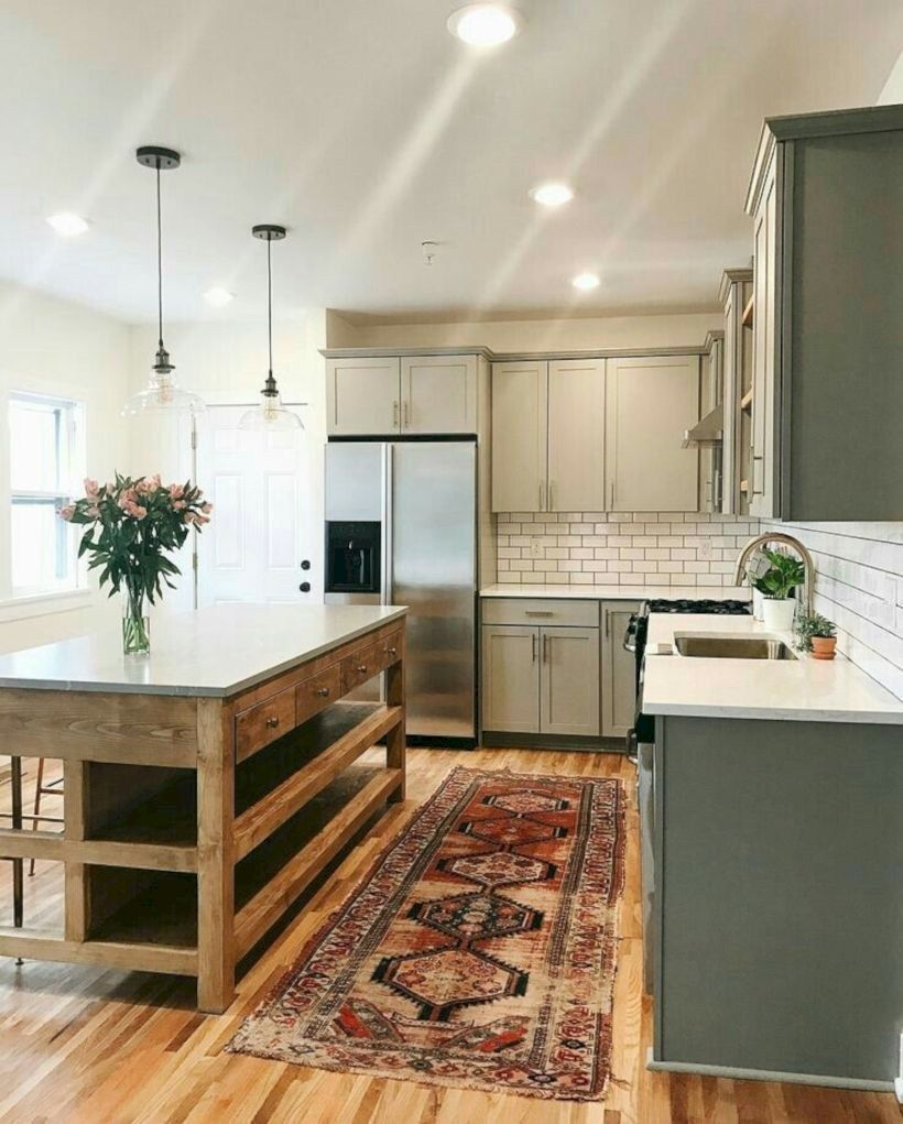 47 Fabulous Small Kitchen Ideas With Farmhouse Style Matchness Com Home Kitchens Home Sweet Home