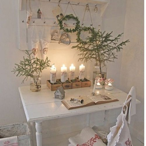 Shabby Chic Kitchen Table Centerpieces: English Cottage Decorating Ideas