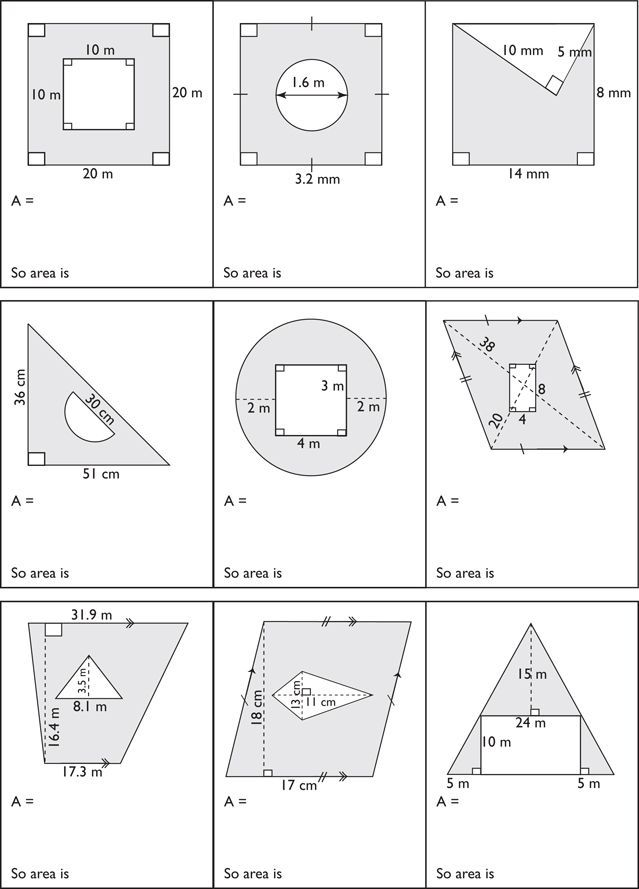 Find the Area of a Triangle | Worksheets, Triangles and Math