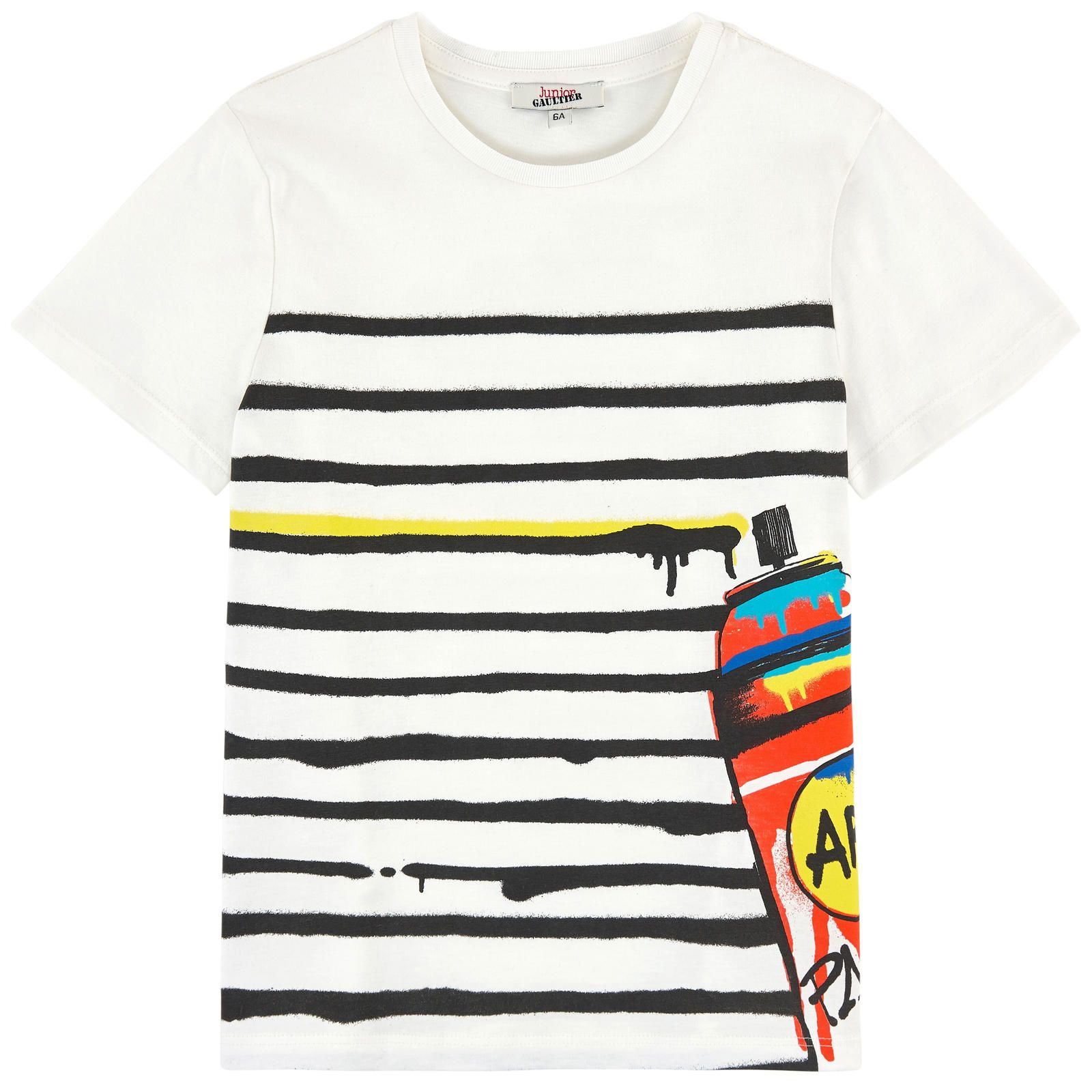 T-shirt with a print Junior Gaultier for boys | Melijoe.com