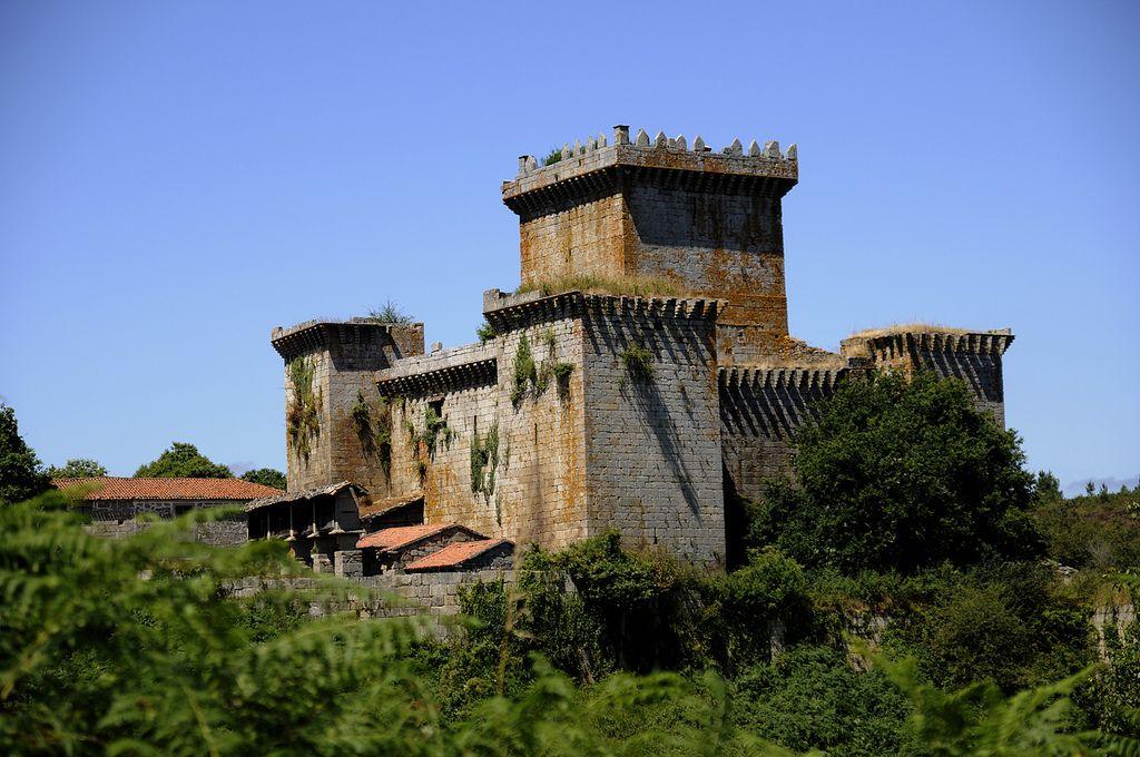 Castillo de Pambre.  Galicia/ Spain, amizing