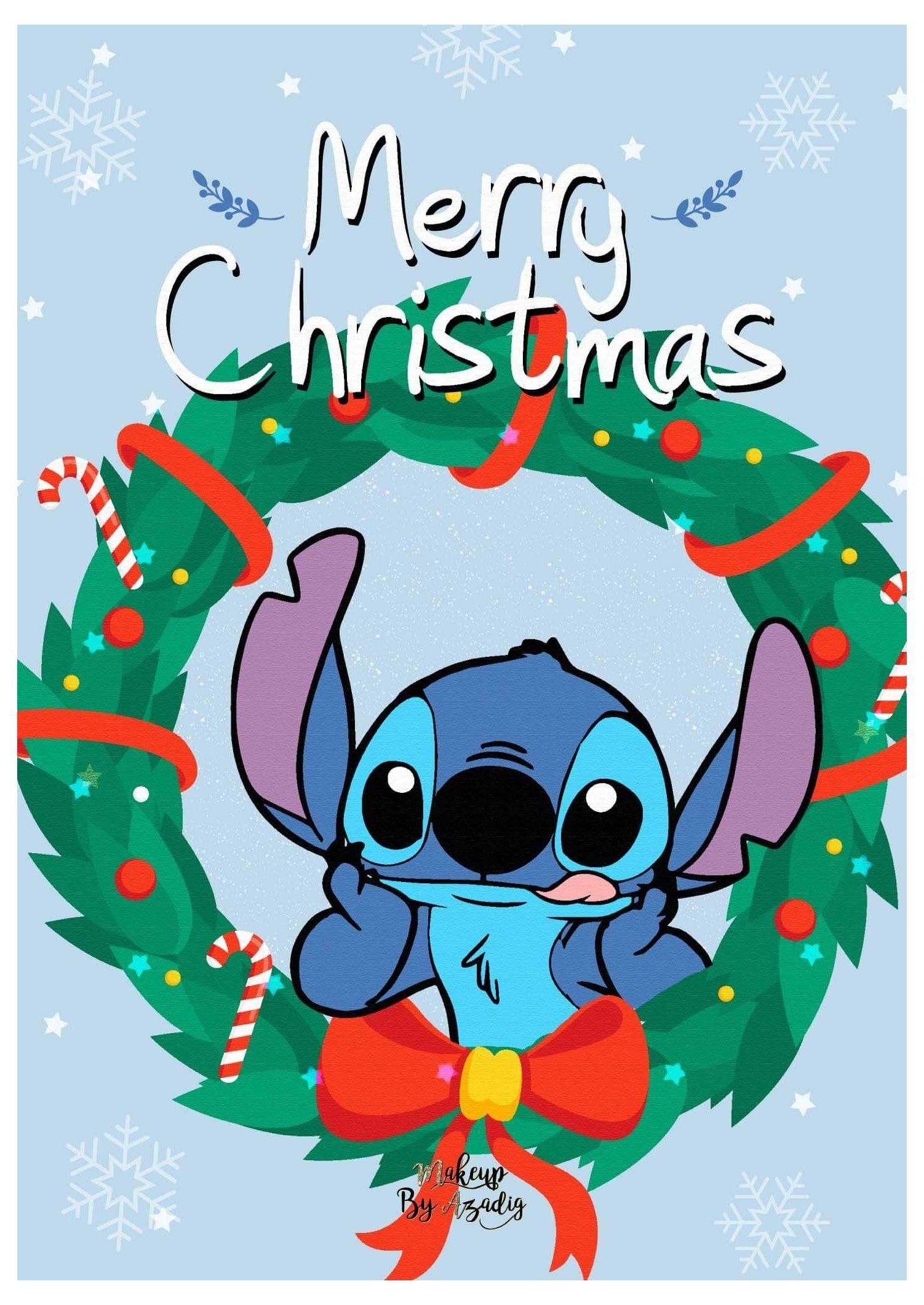 9 Fond Dcran Disney Stitch Christmas Stitch Wallpaper Iphone Christmas Cute Disney Wallpaper Christmas Wallpaper