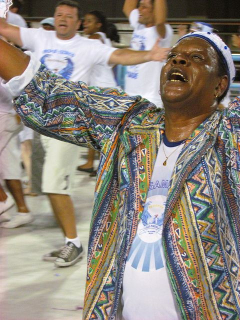 Passista Portela Sambódromo Ensaios técnicos Carnaval Rio de Janeiro Carnival 2012 Carioca Brazil Brasil samba by SeLuSaVa, via Flickr