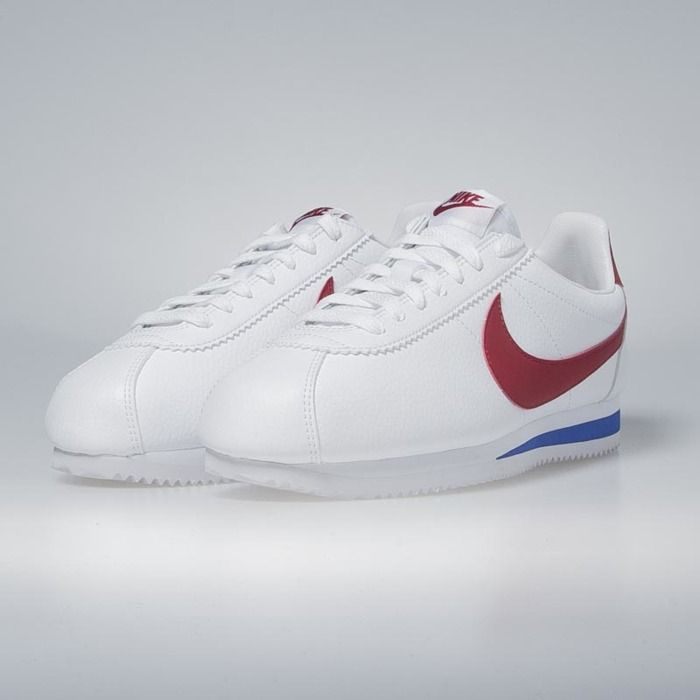 8dae7e4626 Sneakers buty Nike Classic Cortez Leather white / varsity red 749571-154